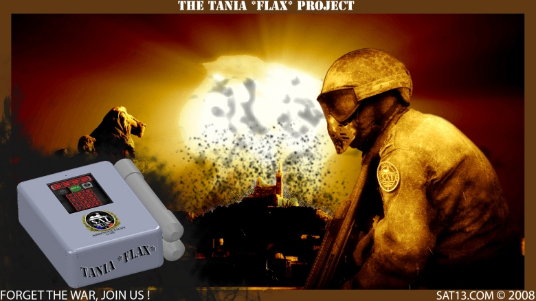 Tania *Flax* Project- Foorget the war join us
